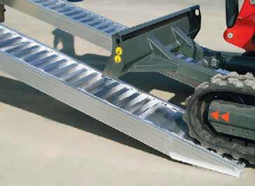 Продаем алюминиевые аппарели, въездные рампы, сходни, трапы для заезда техники, перегрузочные мосты
