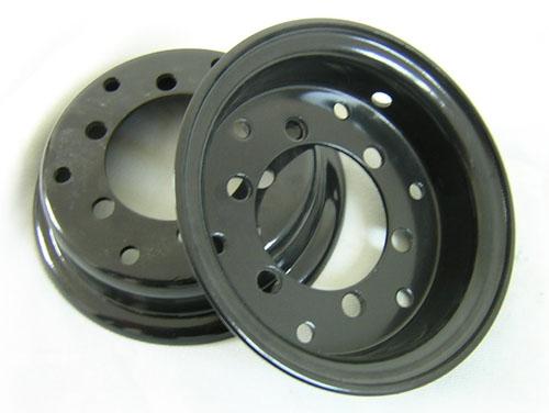 диски для бандажных шин для прицепов и вилочных погрузчиков, диски разборные для вилочных погрузчиков
