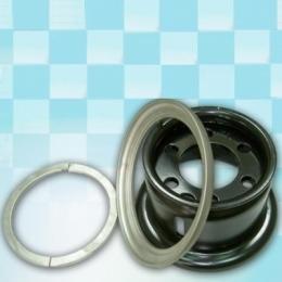 Диск для погрузчика 5.00F-10 (6.0мм) сварной в комплекте с запорным и боковым кольцом