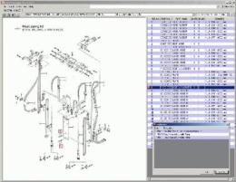 Каталог деталей вилочных погрузчиков Mitsubishi ForkLift Trucks