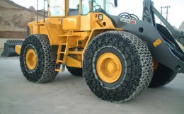 Защитные цепи для колес 50 / 80 R 57 - 20 Royalrock Heavy S.Square Производство Турция Las-Zirh