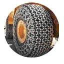 Защитные цепи для колес 29.5-29 - 18 Universal Heavy S. Square Производство Турция Las-Zirh
