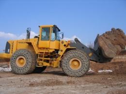 Защитные цепи для колес 23.5-25 - 16 Superstone Heavy S. Square Производство Турция Las-Zirh