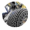 Защитные цепи для колес 18.00 - 25 - 18 Royalrock H.S. Square Производство Турция Las-Zirh. (2)