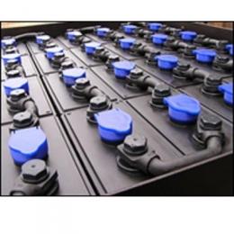 Тяговой аккумулятор 2х20х3Р55 165am/h EP-006  (Тяговая батарея)