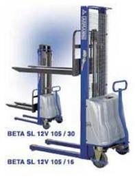 Штабелеры Armanni модель BETA SL 12V 125-16 (АКБ 12В, 155А*ч)
