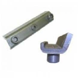 Запчасти для навесного оборудования BOLZONI (Вкладыш верхний каретки бокового смещения BOLZONI 1,8 тн)